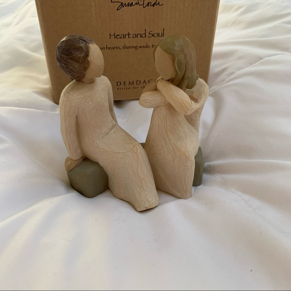 Willow Tree heart and soul figurines